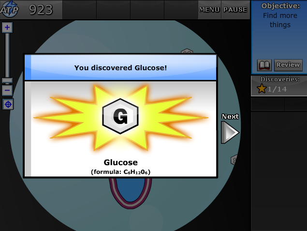You have discovered glucose!